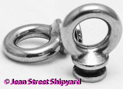 Pair Replacement Spare Marine Stainless Eye For Boat Fender Bumper Lock 2pk