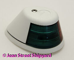 White Boat Deck Mount Bi-color Bow Navigation Light 2 Mile Perko A-16 252wb0dp1