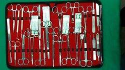 117 Pc O.r Us Military Field Minor Surgery Surgical Veterinary Dental Inst Kit