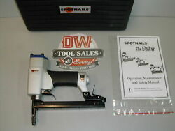 Long Nose Upholstery Stapler 50 Series For Duo Fast Js5016ln Spotnails W/ Case