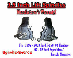 97 - 03 Ford F-150 F150 Expedition Lincoln Navigator 2wd 3.5 Inch Lift Spindles
