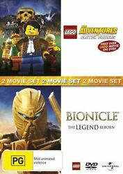 Bionicle: The Legend Reborn  Lego: Adventures of Clutch Powers * NEW DVD