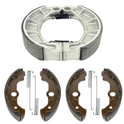 Front And Rear Brake Shoes For Honda Trx400fw Fourtrax Foreman 400 4x4 1995-2003