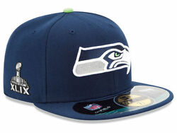 Official Nfl Super Bowl Xlix 49 Seattle Seahawks New Era 59fifty Fitted Hat