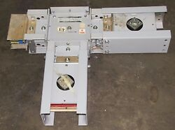 Ge Spectra Eeiaaafzecdczzz Style 1 1200a 1200 A Amp 600v 3ph 4w Busway Tee New