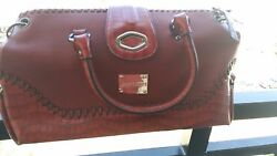 Women wine redburgundy designers bag by Jimmy Choo