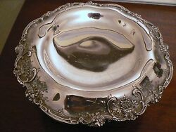 Francis I By Reed And Barton Old Cornucopia Raised Sterling Silver Compote 11