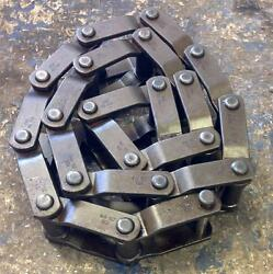 Rexnord Welded Flat Top Conveyor Chain Whx 132 / Whxr 132r 20-links