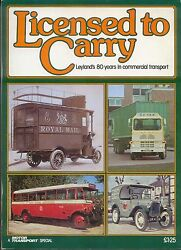 Leyland 80 Years In Commercial Transport Steam Bus Van Truck Municipal Rescue +