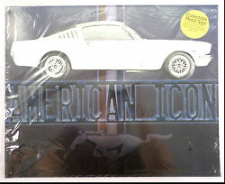 American Muscle Mustang Icon Car Advertisement Metal Bar Sign Man Cave