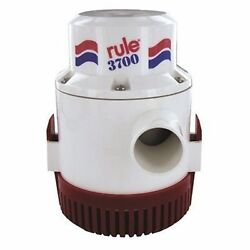 Rule 16a Bilge Water Pump Non-automatic 24v 3700 Gph Submersible Boat Marine Md