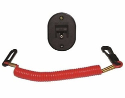 T-h Marine Ks-1-dp Engine Kill Switch Saf-t-stop Universal Outboard Boat Md