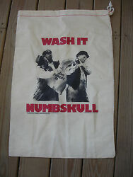 Old Vintage Collectible Three Stooges Wash It Numbskull Canvas Laundry Bag