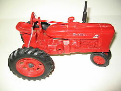 ertl red mccormick tractor toy metal