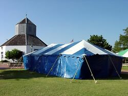 20x40 Commercial Pole Tent (wind resistant)