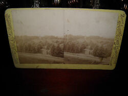 Tipton Stereoview Of Soldiers' National Cemetery Gettysburg