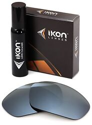Polarized Ikon Replacement Lenses For Rb2027 Predator 2 62mm - Silver