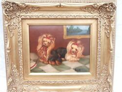 YORKSHIRE TERRIER YORKIE SMALL BREED DOG ADORABLE CANINE PORTRAIT PUPPIES OC