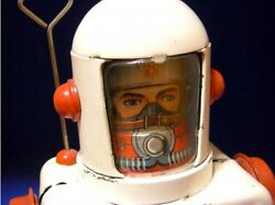 tin toys 1950s yonezawa made space scout