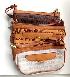 Small 9quot; Faux Leather Hobo Bags Color: White Apricot Coffee $9.99
