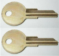 2 Boat Replacement Keys Ignition Cargo Pre-cut To Your Key Code Pk500-pk999