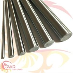 Metric Silver Steel Round Bar - Round Ground Shaft Rod - Various Sizes And Lengths