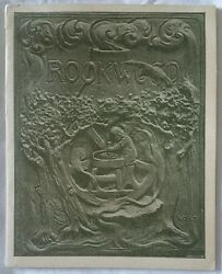 Superb Rare Authentic Very First Rookwood Pottery Booklet Book Pamphlet. 1890and039s