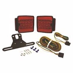 Boater Sports 59333 Led Square Tail Light Complete Kit - Clam Pack Marine Md
