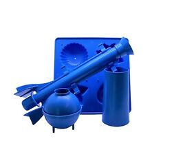 Proops Candle Mould Set 1 Moulding Tray 1 Long Tapered 1 Sphere And 1 Pillar S7326