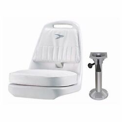 Wise Pilot Chair With 18andrdquo Pedestal Seat Package 1 Wd013 And Wp23-15s Boat Mari