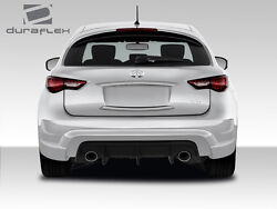 09-15 Fits For Infiniti FX QX70 Duraflex CT-R Rear Bumper 1pc Body Kit 108988