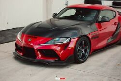 Hood Double-sided Carbon For 2020-up Toyota Supra A90 Hd20tysup-vs-ds