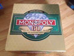 monopoly uk limited edition 60th