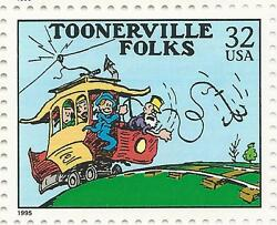 toonerville folks trolley car fontaine fox