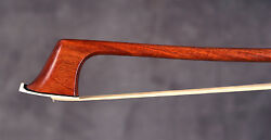 A superb French certified cello bow by J.D. Adam &