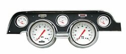 Classic Instruments 1967 - 68 Ford Mustang Gauge Cluster Black Dash Bezel Mu67wh