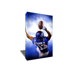 Giants Odell Beckham Jr Finger Catch Poster Photo Painting On Canvas Wall Art