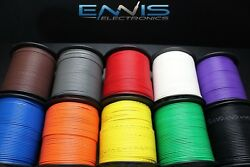 18 Gauge Wire Pick 3 Colors 100 Ft Ea Primary Awg Stranded Copper Power Remote