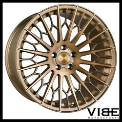20 Stance Sf02 20x10.5 Bronze Forged Concave Wheels Rims Fits Audi B8 A5 S5