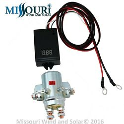 10000 Watt 440 Amp Charge Controller 12 Volt for Wind Turbines amp; Solar Panels $64.99