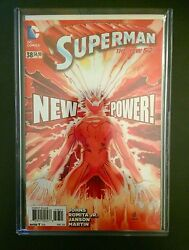 Superman 38 Nm New 52 Superman Gets New Powers Super Flare 1100