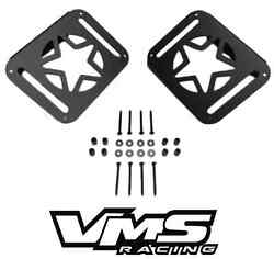 Vms 2 Jeep Wrangler Jk 2007-2016 Military Star Rear Tail Light Covers Guards
