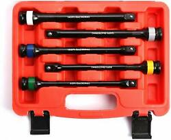 5 Pc 1/2 Dr. Torque Extension Bar Stick Color And Letter