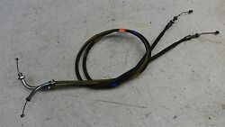 1975 Honda Cb750 Cb 750 H1234and039 Throttle Cable Set Pair
