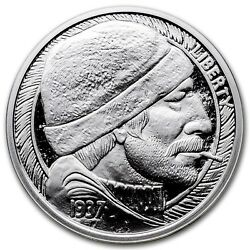 Limited Edition Hobo Nickel Art Round