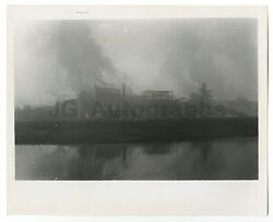 American Pollution - Water Pollution - Vintage 8x10 Photograph - Lewiston, Id