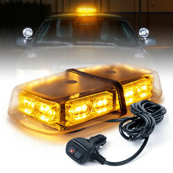 Xprite 36 Led Strobe Beacon Lights Rooftop Flash Emergency Warning Yellow/amber