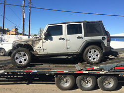 07-2010 Jeep Wrangler Jk 4-2 Door Frame Chassis Front Section We Cut For You