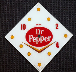 New 15 Dr Pepper Soda Pop Diamond Glass Clock Face For Pam Wwii