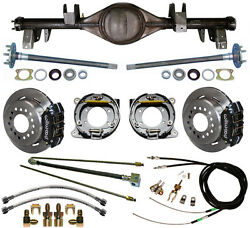Currie 65-70 Impala Rear End And Wilwood Disc Brakeslinese-brake Cablesaxles++